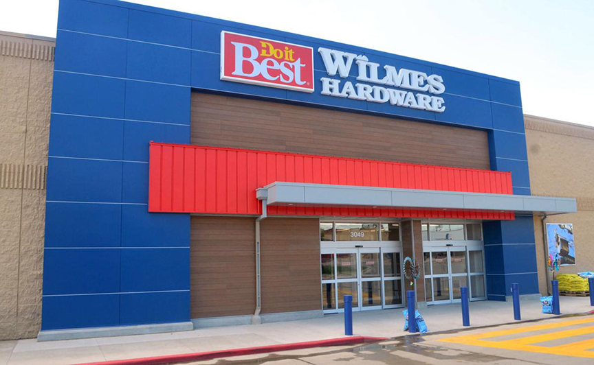 Wilmes Do it Best Hardware opened a new store in a former Shopko building in Sioux City, Iowa. Photo credit: Mason Dockter, Sioux City Journal.