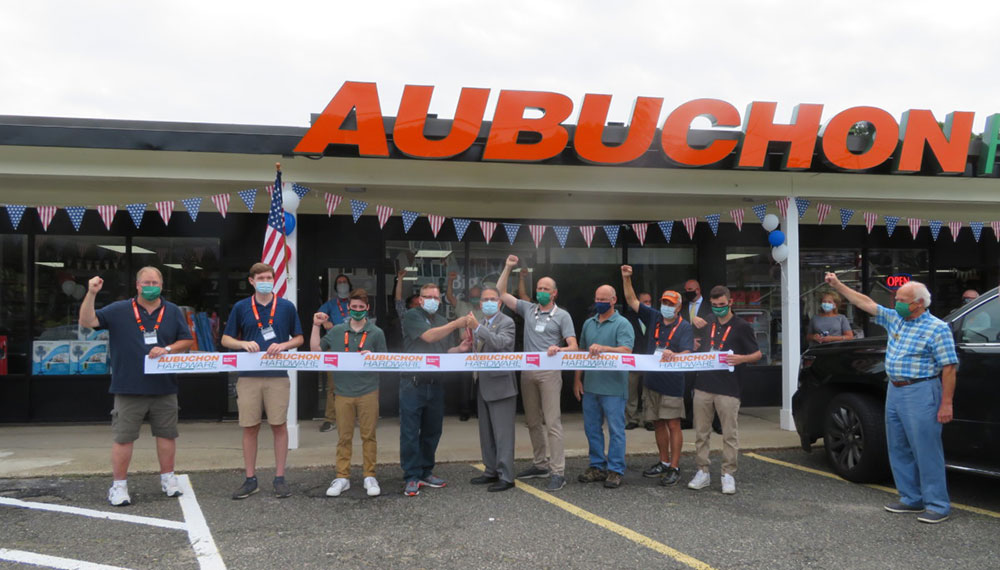 Aubuchon Hardware has opened its newest store in Monroe, Conn. Photo courtesy of The Monroe Sun.