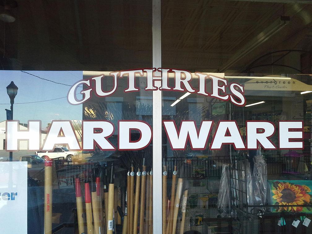 Guthrie's Hardware has been serving Brookneal, Va., since 1954.