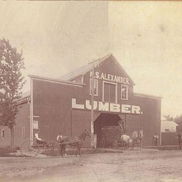 The name was changed to M.S. Alexander Lumber Company in 1891.