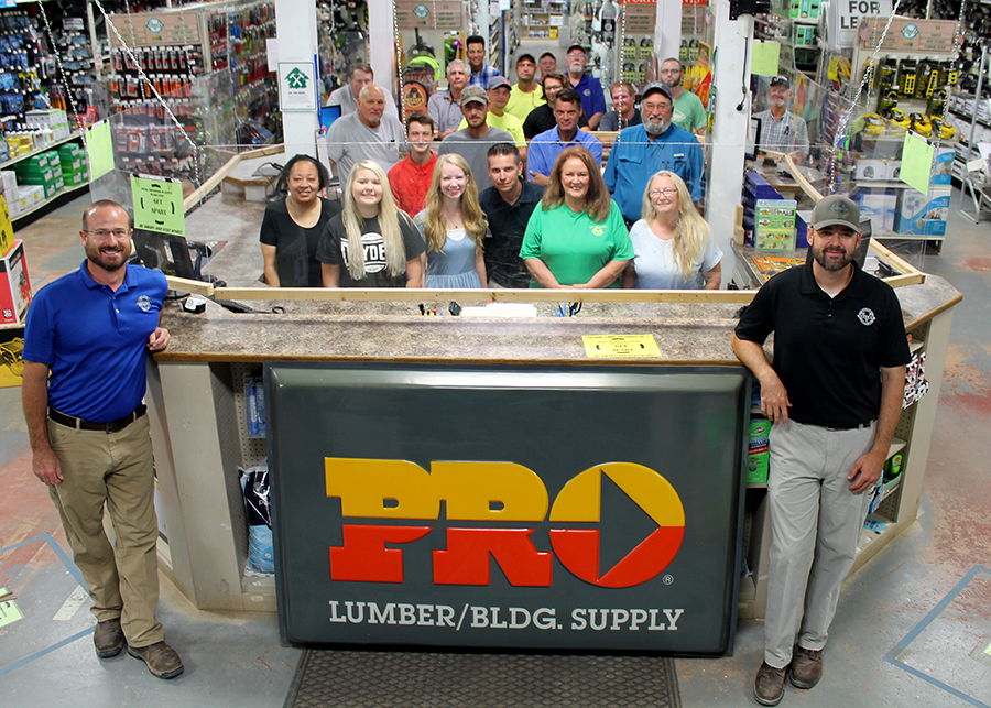 The team at Valley Building Supply and PRO Hardware.