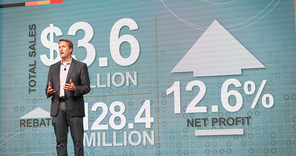Do it Best President Dan Starr addressed the co-op's bold growth strategy during his President's Address to Shareholders.