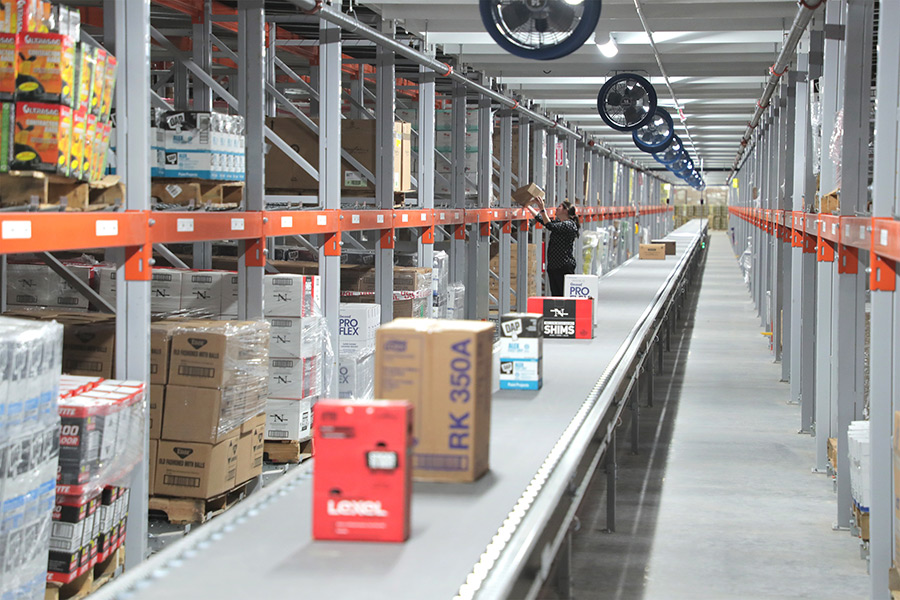 Orgill's new Rome distribution center will serve customers in eight states.