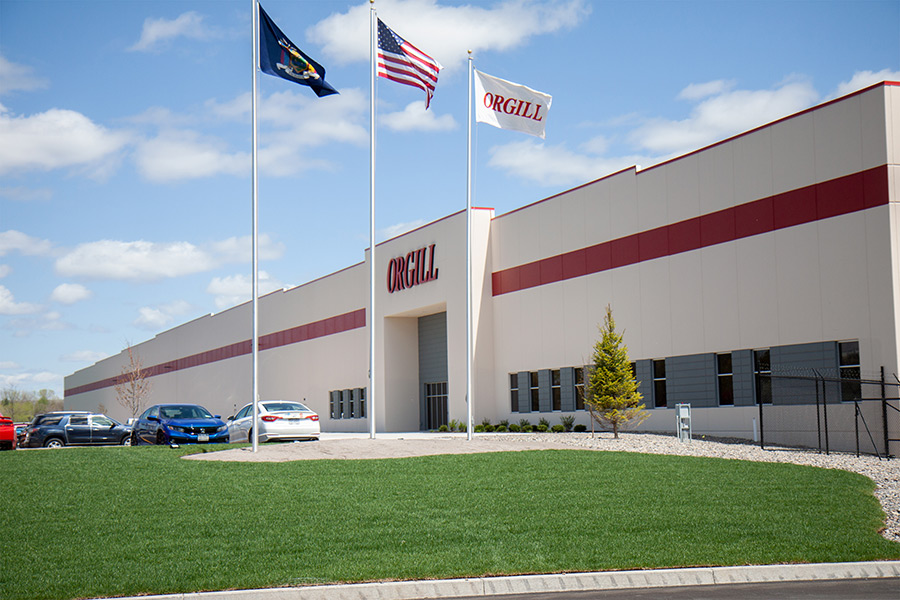 Orgill's new distribution center in Rome, N.Y., was opened in record time.