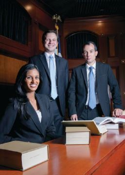 ST. MARY'S UNIVERSITY SCHOOL OF LAW won the 2017 national championship at the ABA's National Appellate Advocacy Competition.