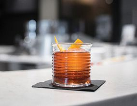 McClintock's forager gin in its cocktails, like the Negroni