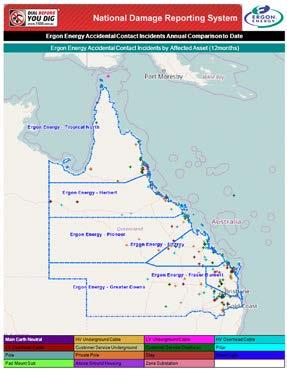 Ergon Energy Report Map