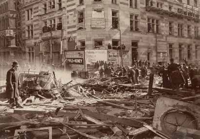 Tremont Street Gas Explosion, 1897