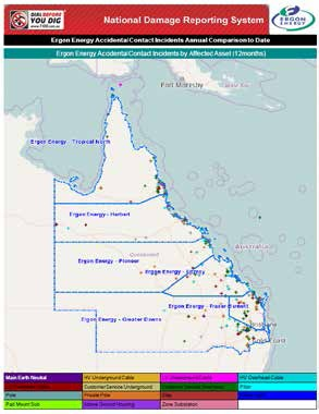 Ergon Energy Report Map