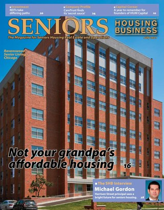 Subscribe - Digital edition - Seniors Housing Business