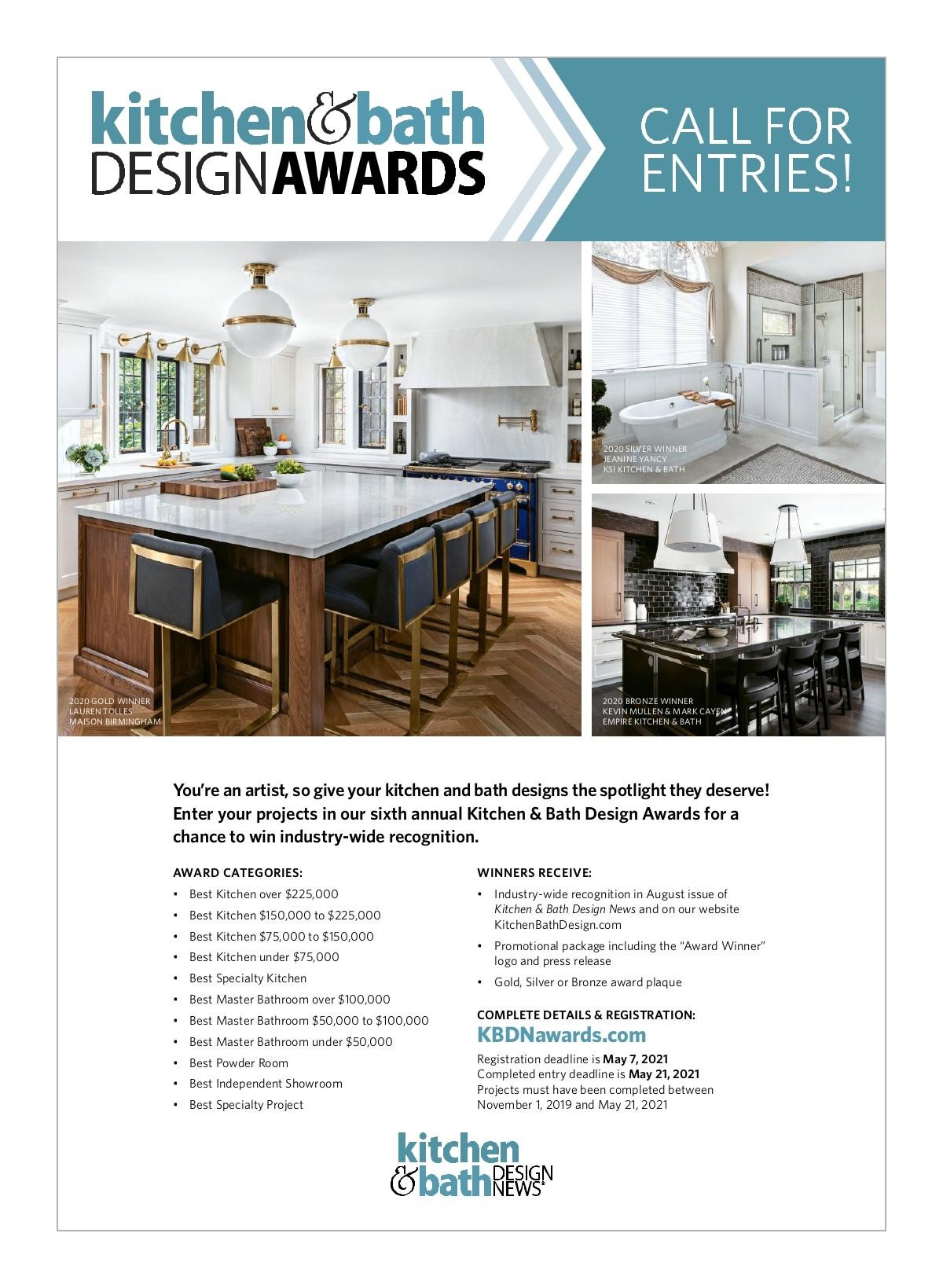 Kitchen Bath Design News March 2021