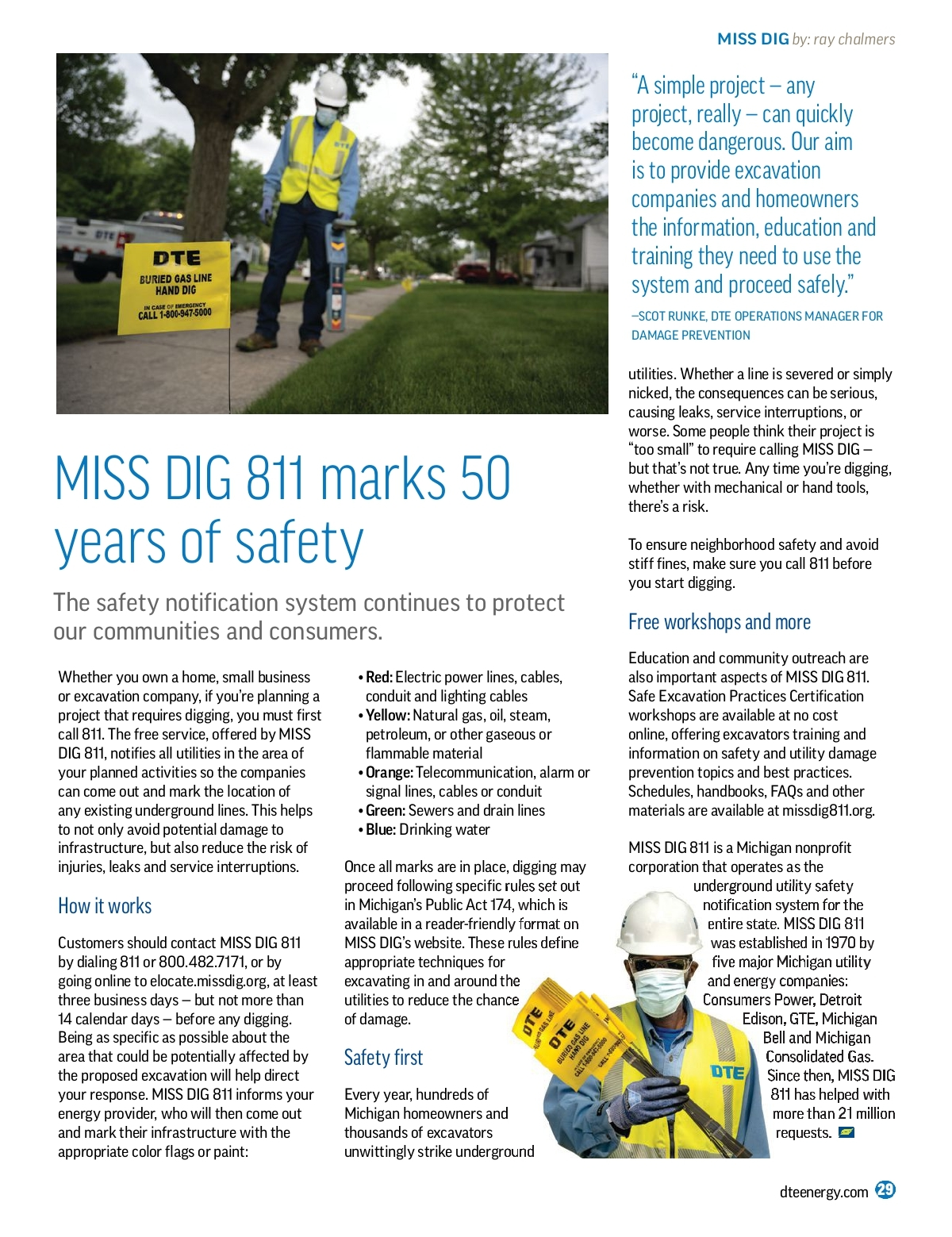 Dte Energy Smarts Summer 2020 We make it easy for you to request public utility lines to be marked so you can safely complete your digging project. mydigitalpublication com