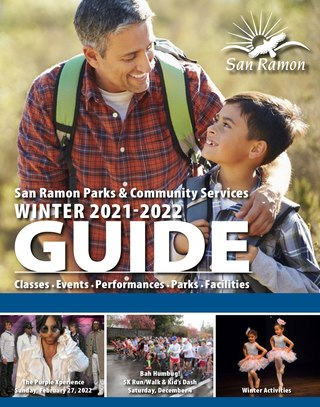 Winter 2021-2022 Recreation Guide Cover