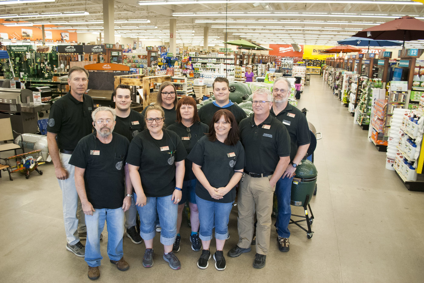 The staff at Parkrose Hardware, known collectively as the Hazel Nuts, delivers exceptional customer service that stands out.