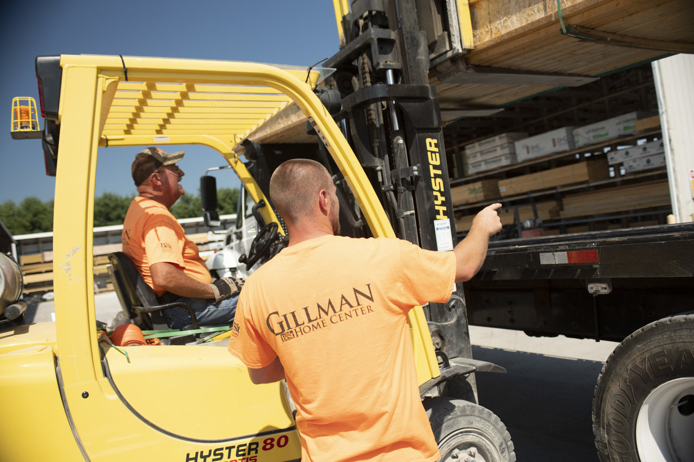 Gillman Home Centers, which gets about two-thirds of sales from pros, sells everything needed for the home from lumber and cabinets to flooring and mattresses.