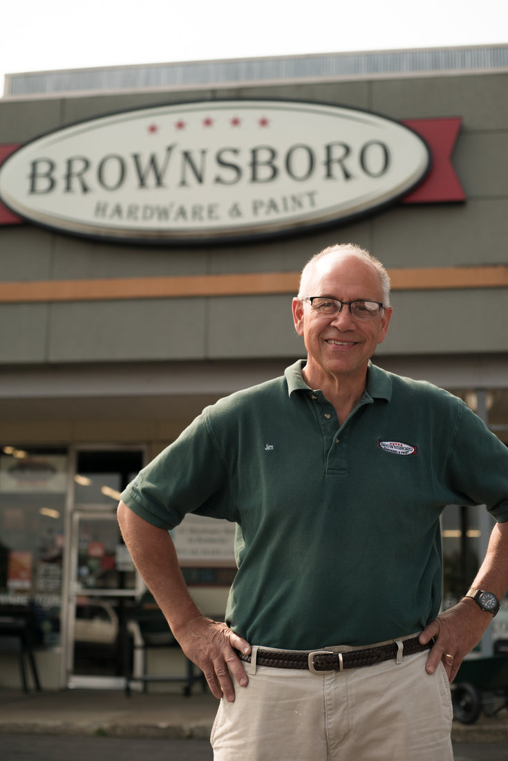 Jim Lehrer has grown Brownsboro Hardware & Paint into a successful two-store operation in the Louisville area.