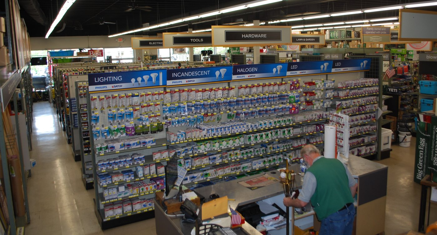 Sales took off at Brownsboro Hardware & Paint after Jim Lehrer bought the store in 1998 and invested heavily in inventory.