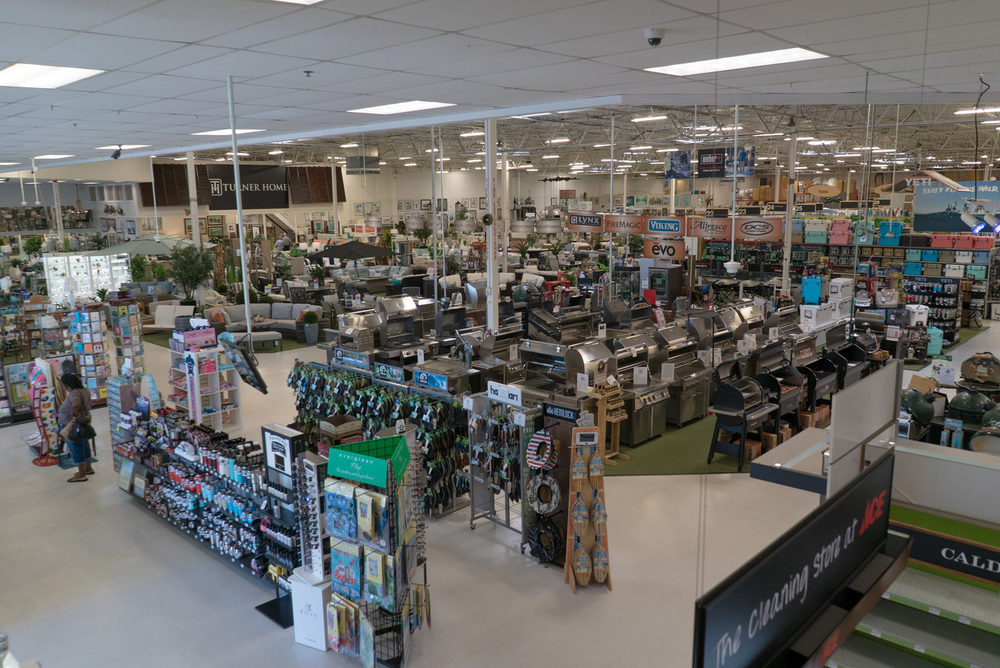 "The flagship store in Jacksonville Beach is 50,000 square feet and includes a Turner Home ""store within a store"" for outdoor furniture and home decor gifts."