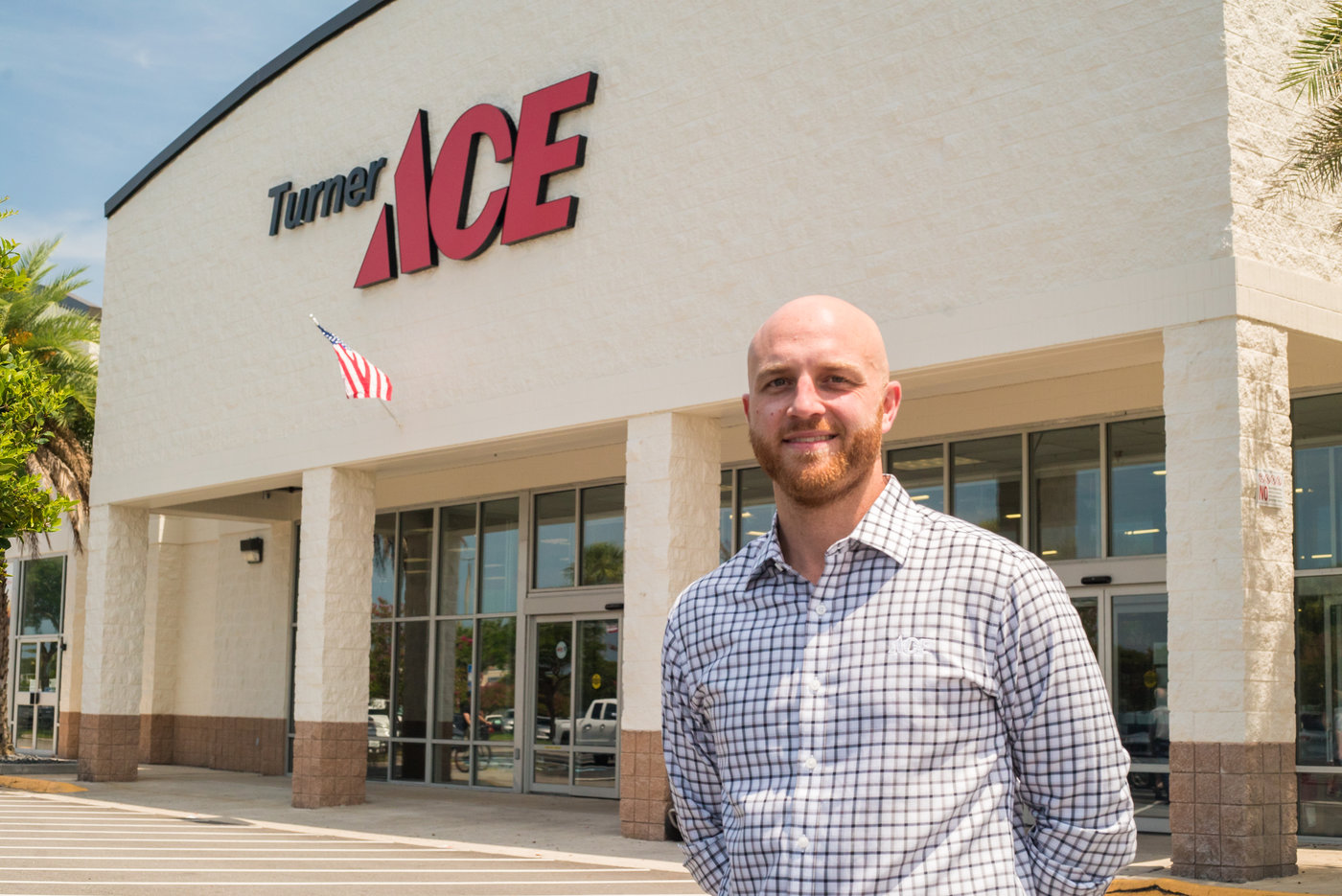 Kyle Turner is a fourth-generation family member involved in Turner Ace Hardware in the Jacksonville area.