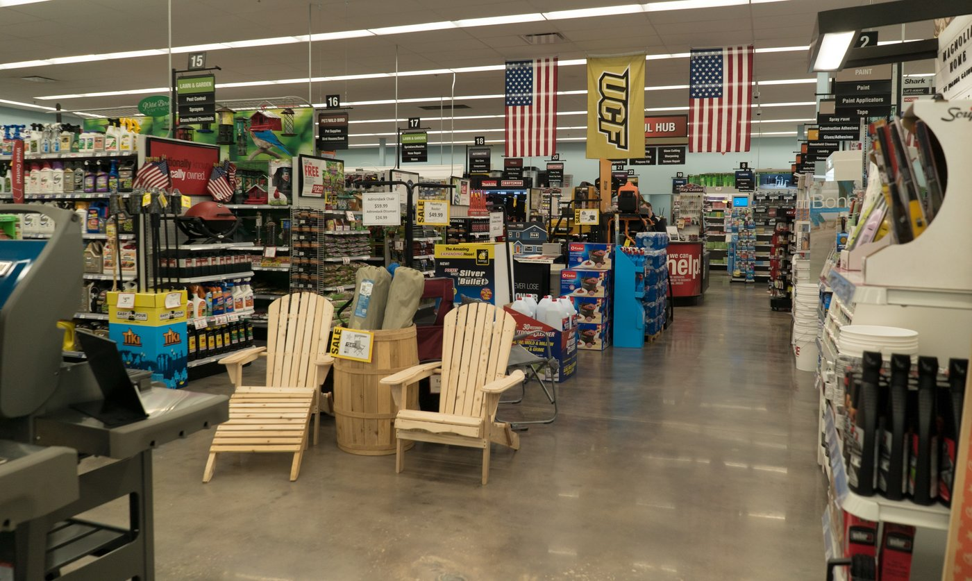 The 12,000-square-foot sales floor features all of Ace's core assortments.