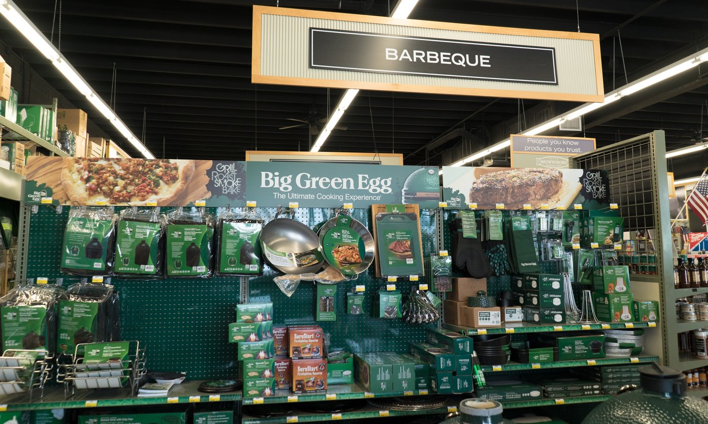 The top-selling category is grills and barbecue accessories.