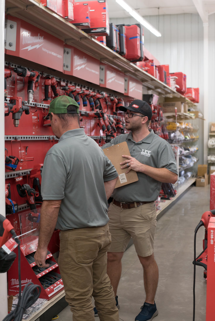 Lee Hardware's knowledgeable employees help the business stand out from the competition.