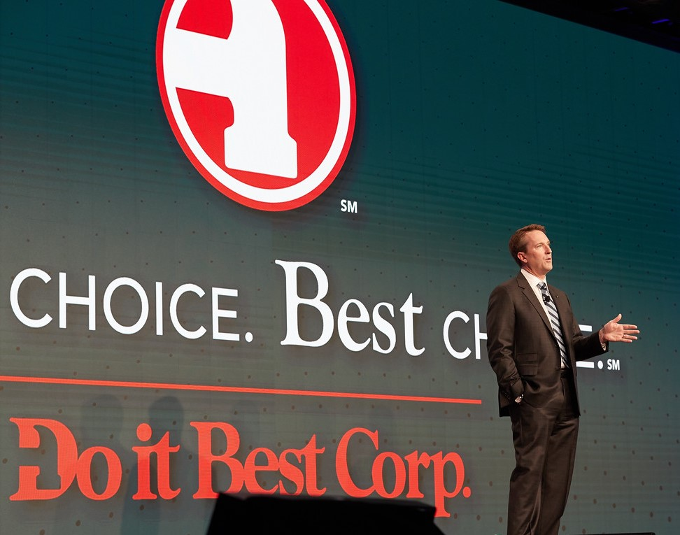 Do it Best President and CEO Dan Starr delivered his President's Address to Shareholders.