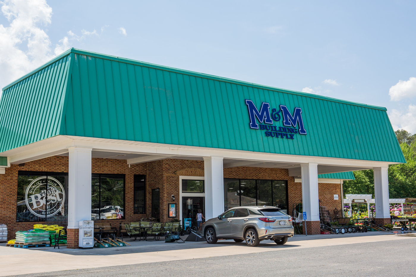M&M Building Supply's third store in Mathews, Va., opened in March 2019.