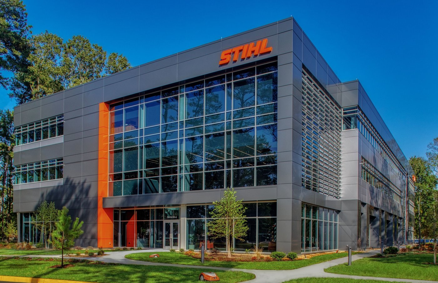STIHL's new headquarters.