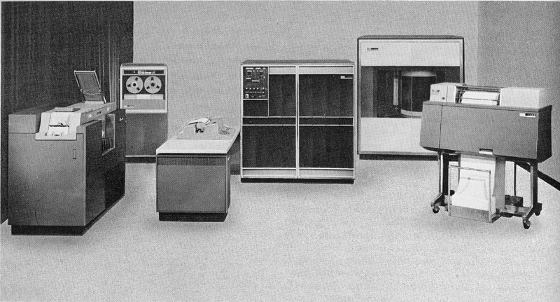 Installing the IBM 1401 computer system in 1964 enabled HWI to expand member services.