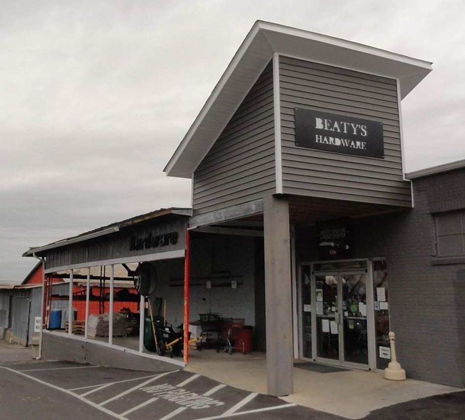 Beaty Hardware started in 1936 as a feed store.