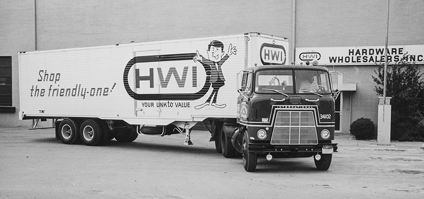 By 1969, HWI had expanded and refined its truck delivery system, turning it into an advantage.