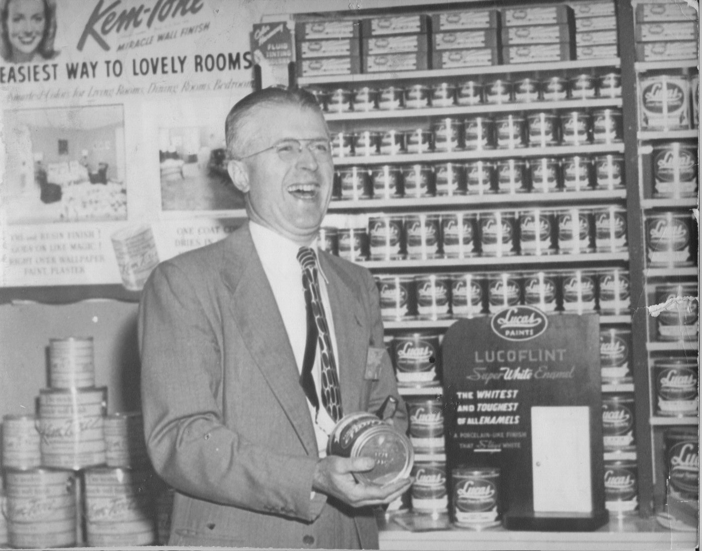 Arnold Gerberding left his job with a small wholesaler in Indiana, Auburn Hardware, to form Hardware Wholesalers Inc. as a dealer-owned cooperative in June 1945. Nearly half the initial members were LBM retailers, and this close mix of hardware and LBM business remains a defining characteristic of the company.