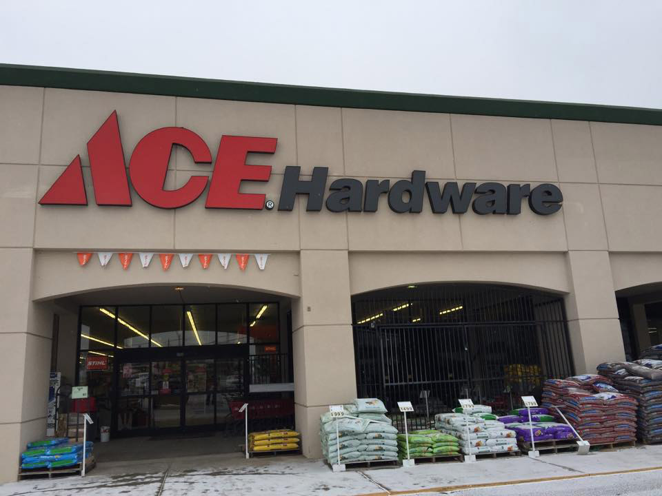 Ace Hardware in Amarillo supports the buy-local movement.