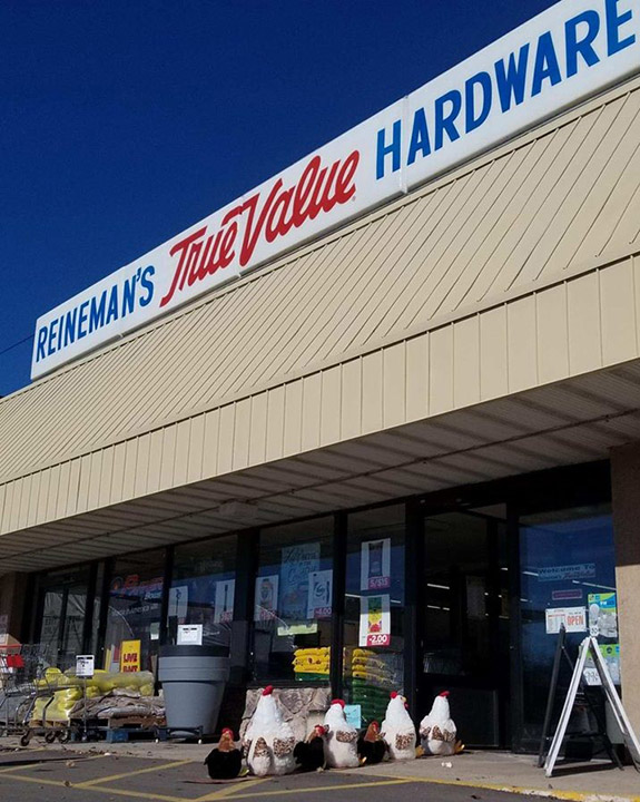 Reineman's True Value operates stores in Burlington and Salem, Wis.