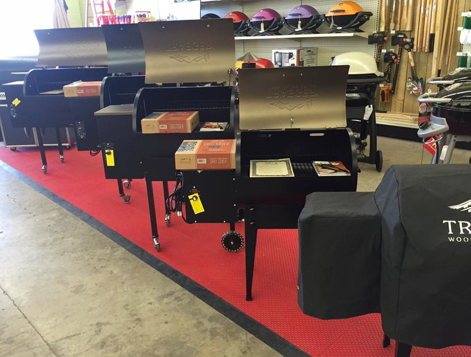 Ace Hardware in Amarillo has a strong niche in grills.