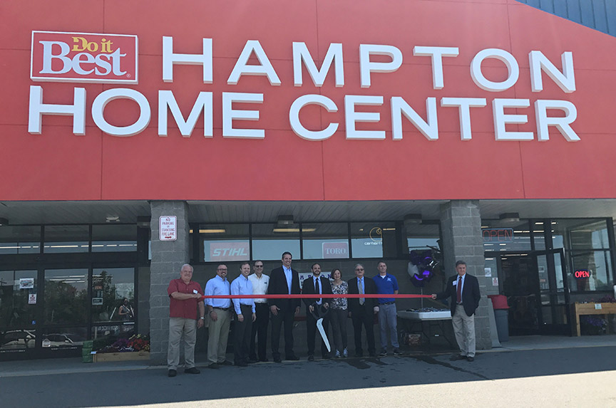 Hampton Do it Best Home Center opened in a former Sears Outlet location in 2017.