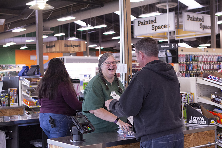 By hiring many former OSH employees and giving the stores a familiar look, Outdoor Supply Hardware has been able to excite the communities in which stores have opened.