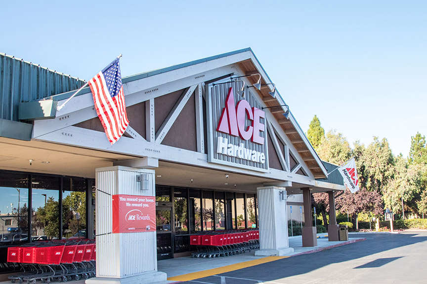 Westlake Ace replaced a former Orchard Supply Hardware when this new store opened in Mountain View, Calif., last September.