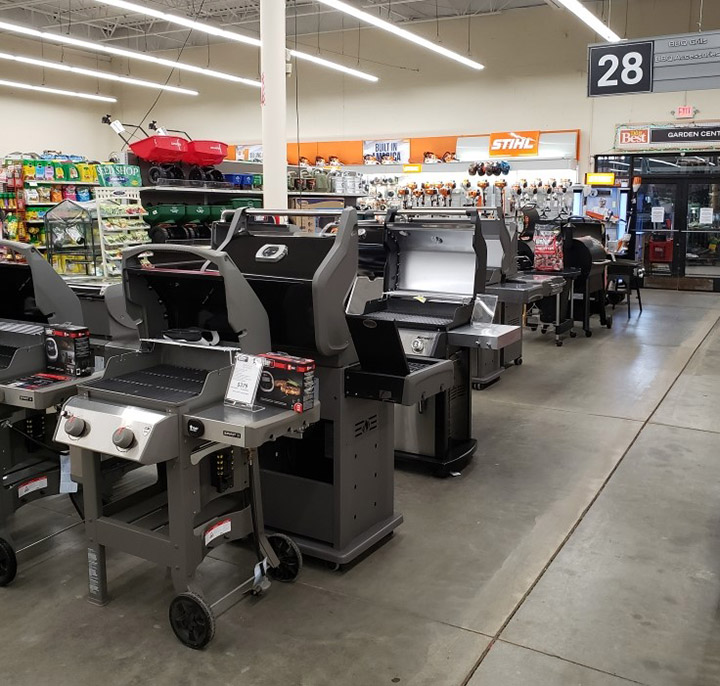 Hampton Do it Best Home Center features a 25,000-square-foot sales floor.