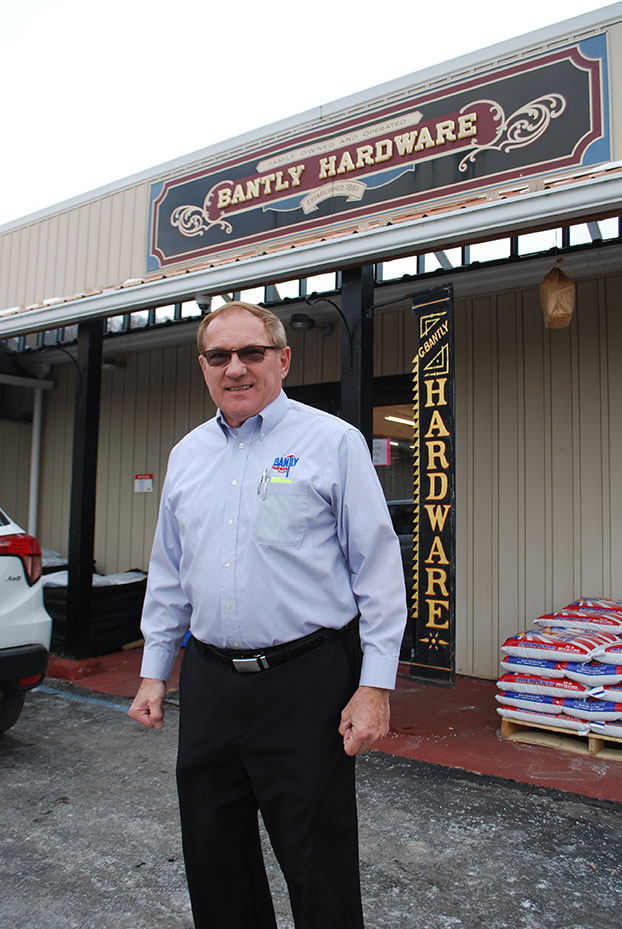 Rob Bantly, the fifth-generation owner of Bantly Hardware, helped restore the business to prosperity after a devastating flood wiped out the store in 1977.
