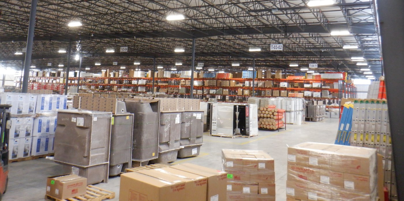House-Hasson just completed a 100,000-square-foot expansion of its warehouse in Knoxville, Tenn., which has enabled them to stock up on items in demand.