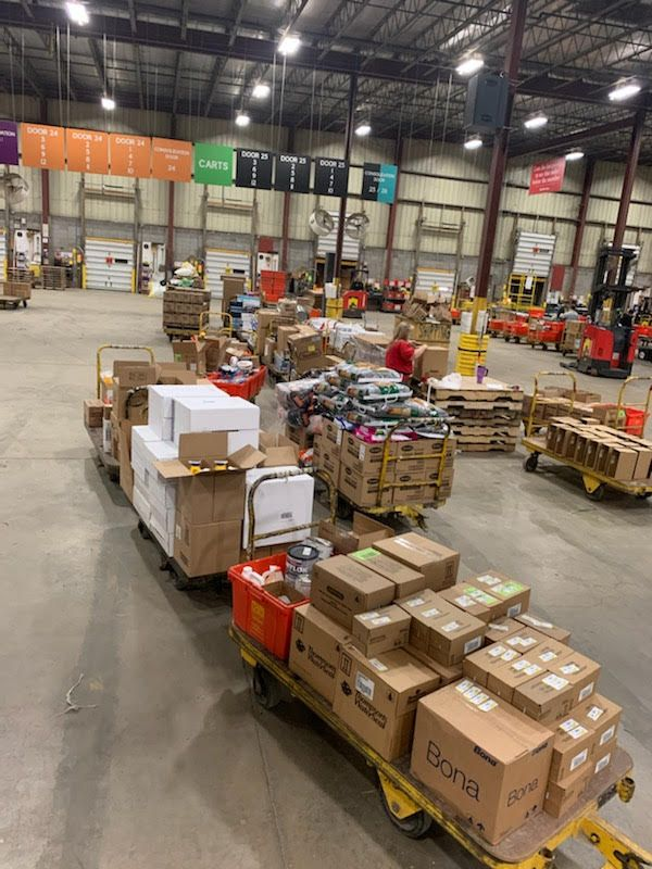 Do it Best's warehouse staff have been working long hours to keep products flowing to members.