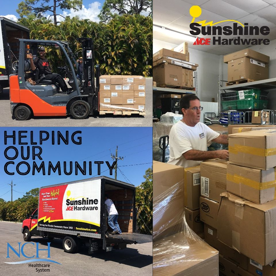 "One of the core values of Sunshine Ace is ""care for your neighbor,"" which the retailer does in many ways."