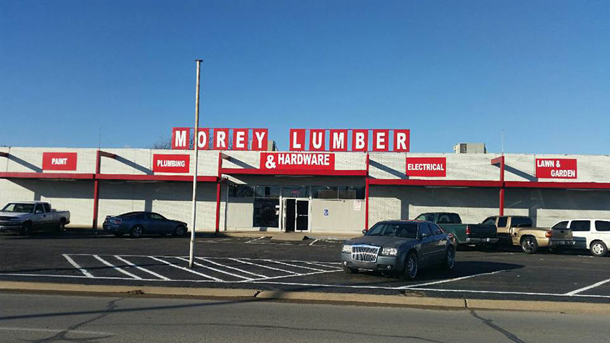 Morey Lumber & Hardware has been owned and operated by the Morey family since 1974.