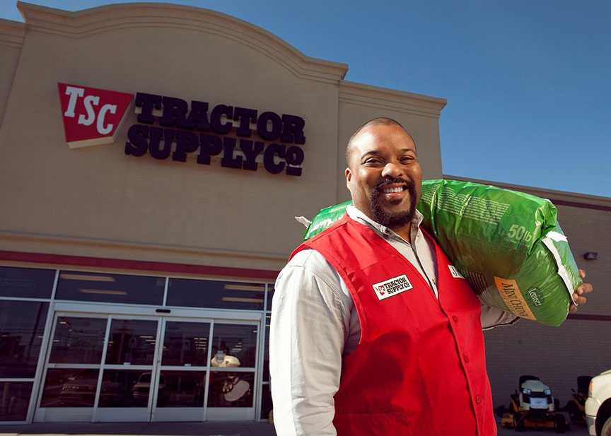 Tractor Supply Company is projecting record sales for the second quarter.