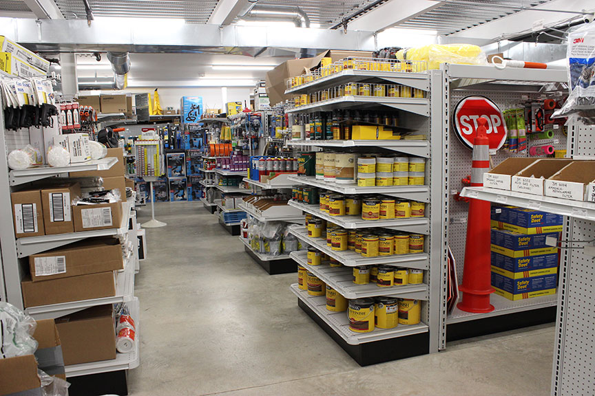 Greschlers Hardware gets three-fourths of its in-store business from contractors, although walk-in DIY sales has increased during the pandemic. A fast-growing internet business now accounts for 15 percent of total sales.