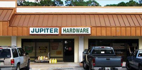 Jupiter Hardware was opened in 1987.