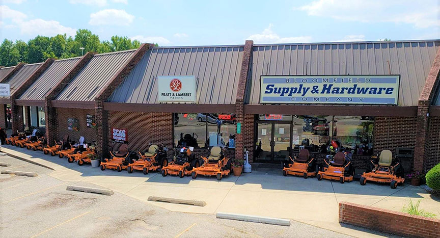 Bloomfield Hardware was founded in 1975 by Derek Rollison's grandfather.