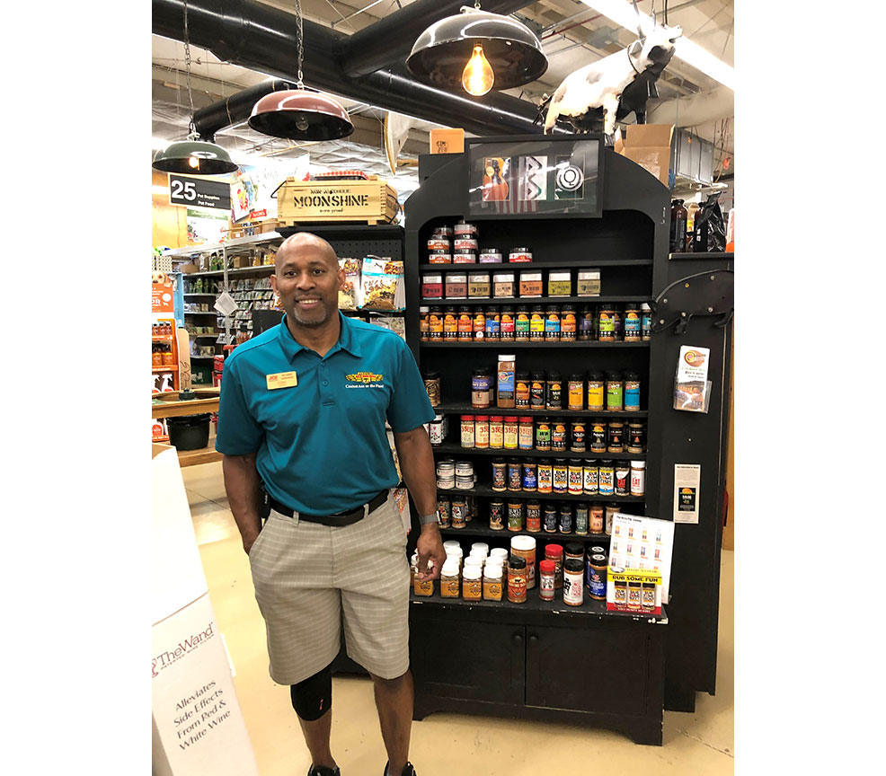 Tony Powers started working part time at Intown Ace Hardware 35 years ago, working his way up to become co-owner in 1996.